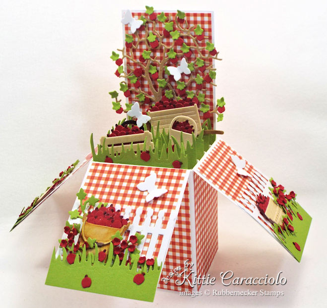 Come see how I made cute this 3D pop up box .