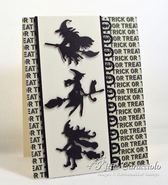 Come see how I made this spooky clean and simple trick or treat witches card.