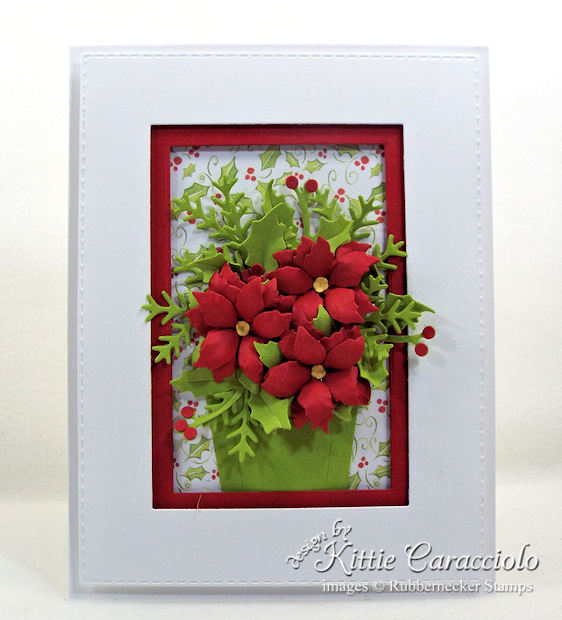 Come see my elegant poinsettia paper flowers basket.