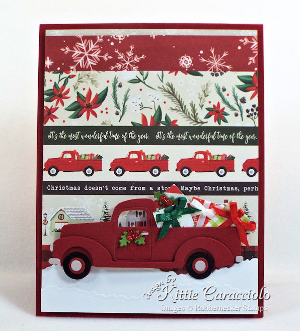 Come over to my blog to see how I made this fun, clean and simple truck Christmas card.
