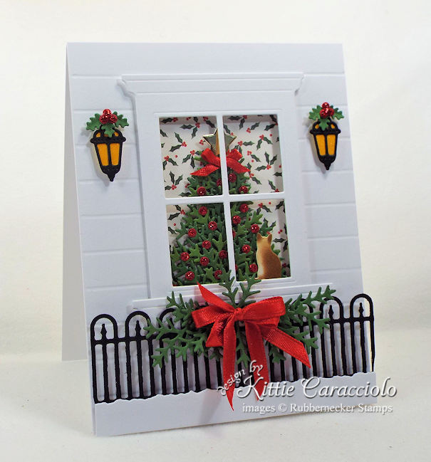 Come over to my my blog to see how I made this lovely christmas tree window card.