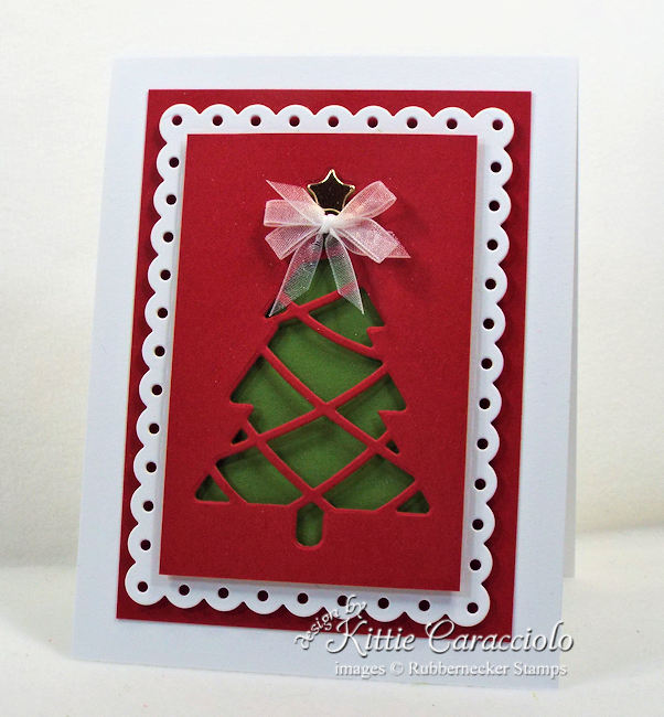 Come see how I made this Christmas simple card design.