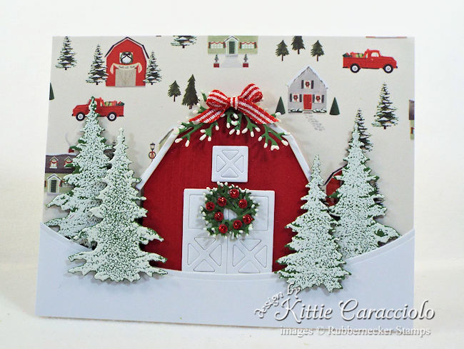 Come see how I made this classic Christmas barn scene.