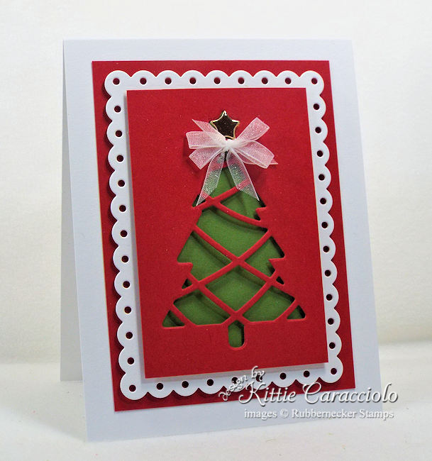 Come see how I made this lovely Christmas simple card design.