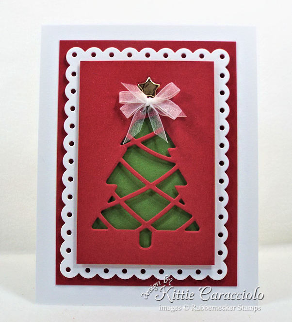Come see how I made this retty Christmas simple card design.