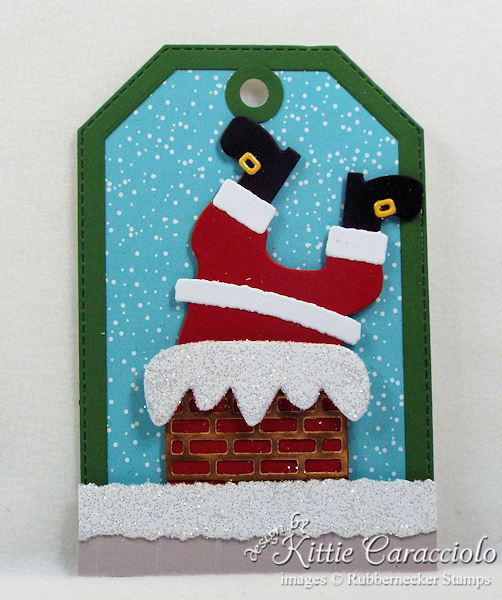 Come see how I made fun handmade Christmas tags.