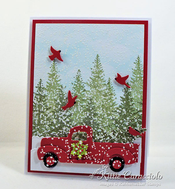 Sending Christmas cards with pickup trucks this year? Click through for some great inspiration!