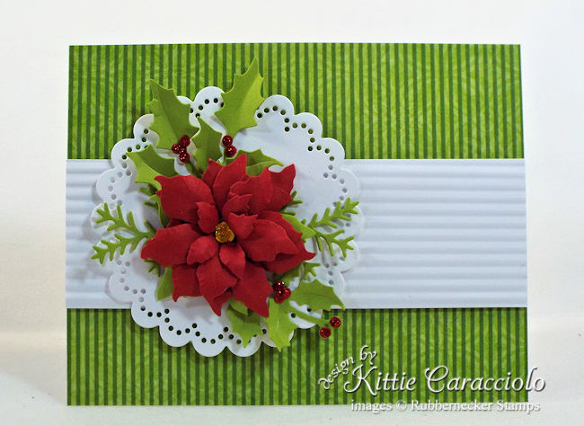 This stunning paper poinsettia can be used in lots and lots of ways - come see how easy it is to make!