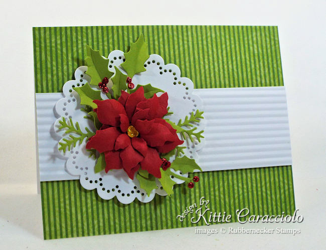 Come learn how to make a paper poinsettia that is pretty enough to be a mini-gift!
