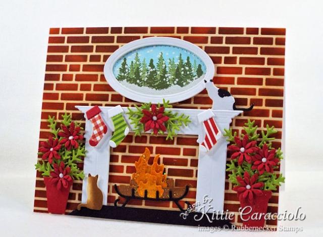 KC Rubbernecker 5220D Fireplace 2 right