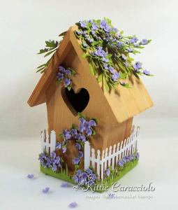 Decorative Bird House for Spring