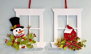 Unique Handmade Christmas Ornaments with Supplies from Your Craft Room