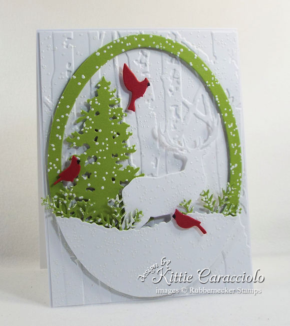 It looks like we might all need a lot of winter greeting cards! Come see how to make my latest version!