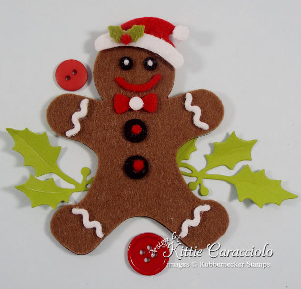 Click thru to see how easy it is to make these super fun gingerbread Christmas ornaments.