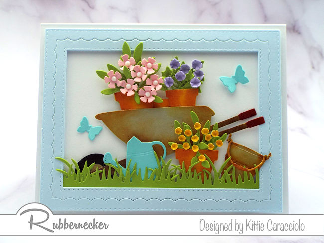 A Welcome Spring card can never be sent too early - click through to see the details!