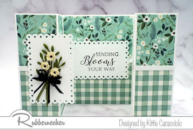 Click through to see how to make a simple double shutter card you can use for any reason!