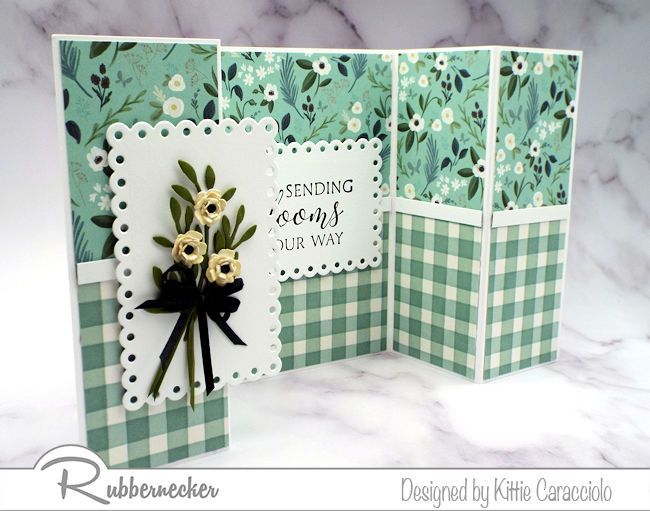 Have you ever made a double shutter card? Click through to see why this card will become a favorite!
