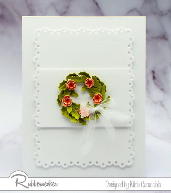 Wreath cards for spring occasions? Why not - click through to see how you can make these!