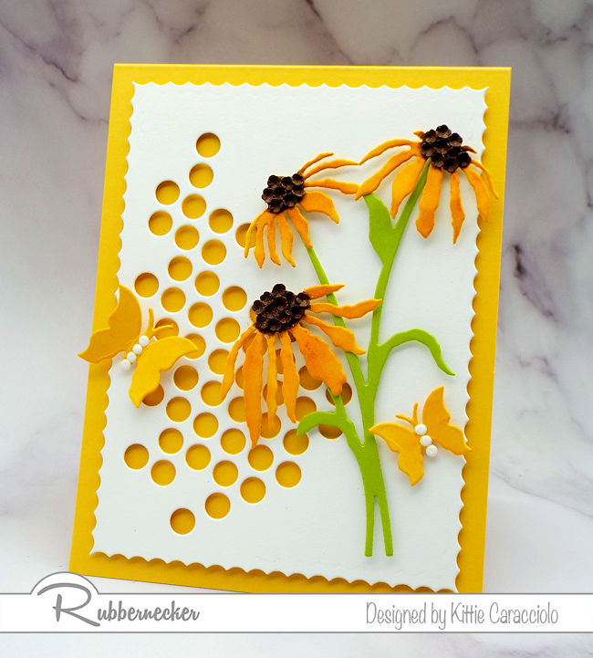 Today a new card made with die cuts I have already shared - come see how I gave them a whole new look!