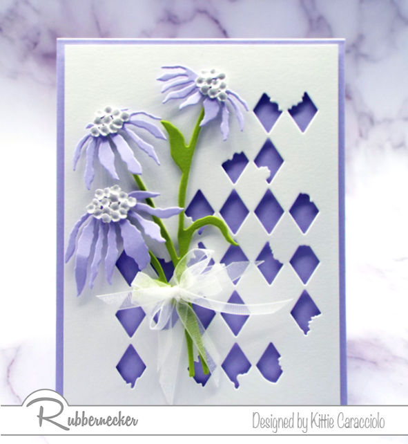 Come see how die cut patterns can add so much to one project!