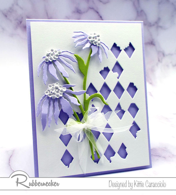 New die cut patterns from Rubbernecker are coming and today you can see one on this project!