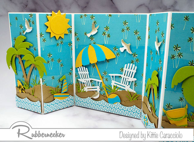 Warm someone's heart by making them think of warming their toes with one of these handmade beach cards!