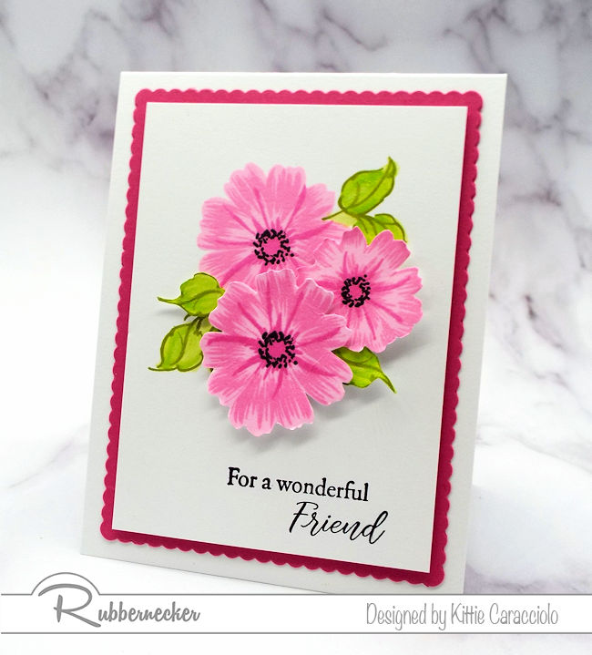 Check out how I made this lovely floral project made using the newRubbernecker Color Fuse inks.
