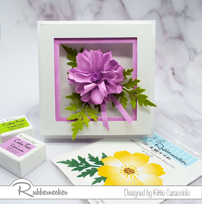 I love to create natural looking dimensional flowers using the paper flower shaping technique. Come over to my blog to see how I made this beautiful flower.
