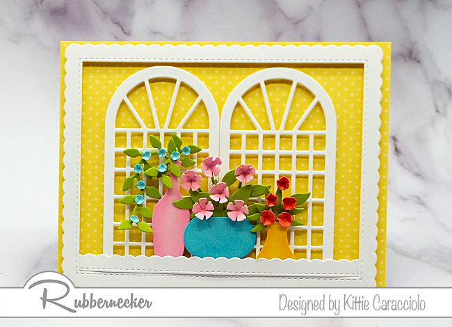 You will love making these bright colored handmade cards as much as your friends will love receiving them!