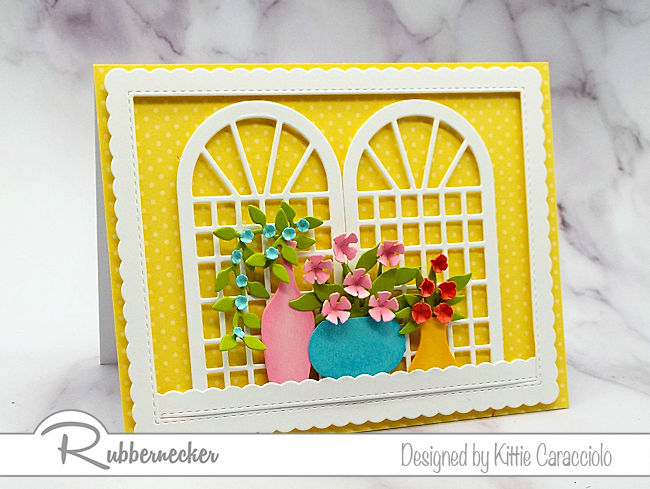 Click through to learn more about how to make these cheerful bright colored cards so perfect for right now!