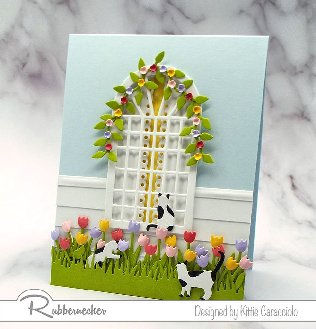 How to Make a Spring Flowers Card
