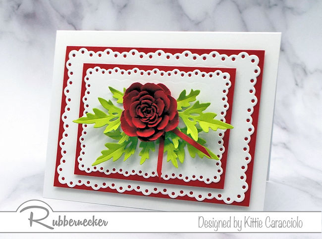 A Rose Card So Real You Might Just Sniff It!