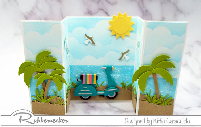 Do beach scene greeting cards make you think of sunny days? Click through to see why I am loving these.