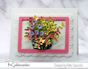 Flower Arranging with Die Cuts
