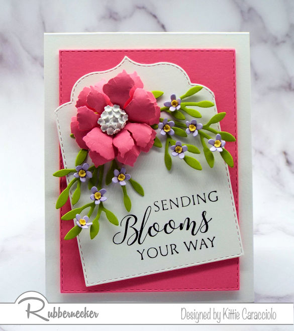 Come see how to get creative with die cuts and manipulate them to create differernt images for your card projects.
