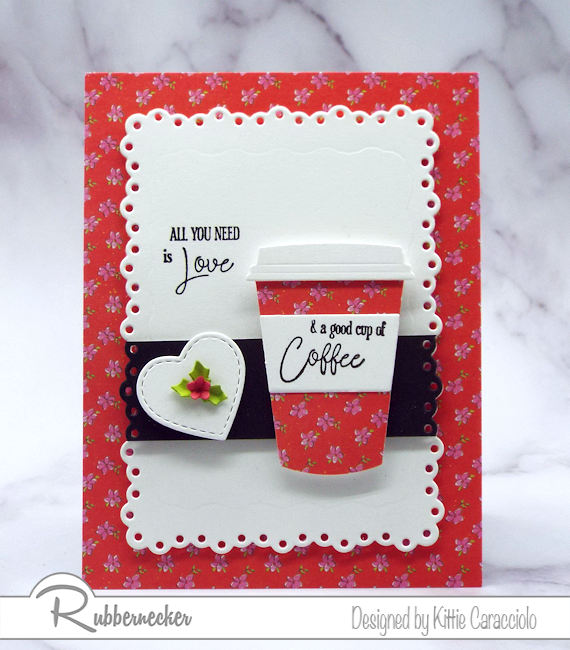 We all need a good cup of coffee in the morning and we also love using coffee themed dies, stamps and sentiments to make fun cards for family and friends.
