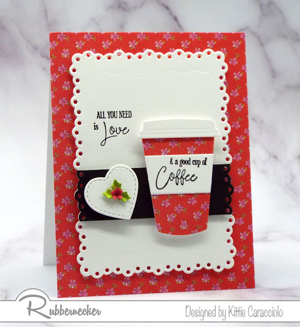 We all need a good cup of coffee in the morning and we also love using coffee themed dies, stamps and sentiments to make greeting cards for family and friends.