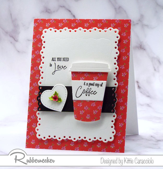 We all need a good cup of coffee in the morning and we also love using coffee themed dies and stamps to make fun cards for family and friends.
