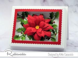 A Paper Flower Shadow Box Card