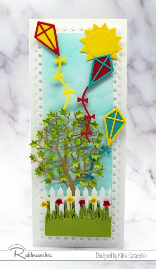 Handmade Kite Card