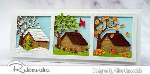 This slimline card idea can be adapted to lots of different themes - come learn more!