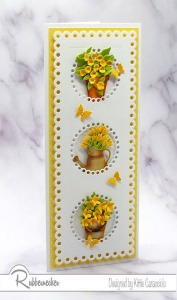 Flower Card Design – A Fresh Take!