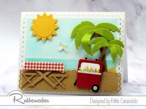 A Cute Beach Picnic Card!
