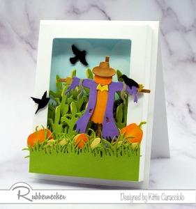 A Scarecrow Shadow Box Card