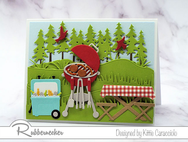 A BBQ Card for Labor Day