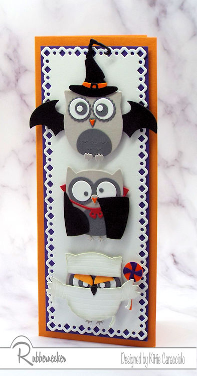 Cute Halloween Cards with Owls!