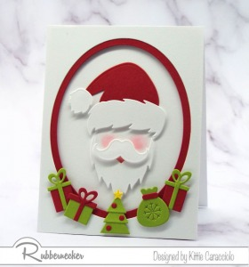 Santa Christmas Cards – Quick and Easy!