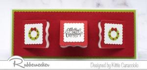 Easy Slimline Christmas Window Card!