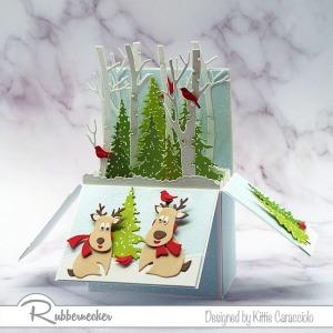 Cute Christmas Pop Up Card!