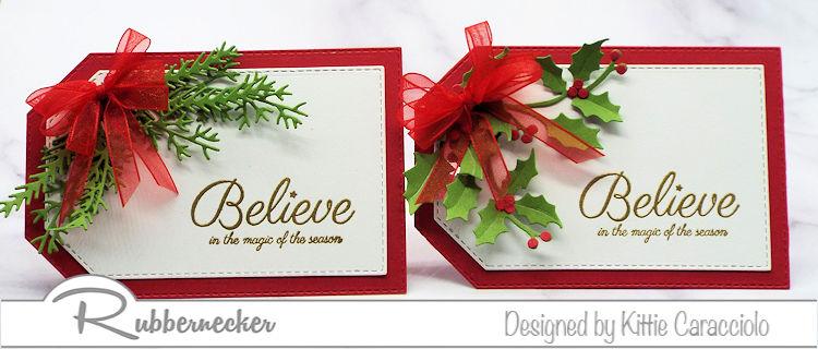 DIY Christmas Gift Tags – SO Pretty!